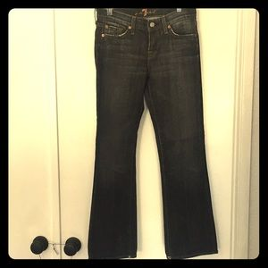 Women's 7 For All Mankind Black Jeans